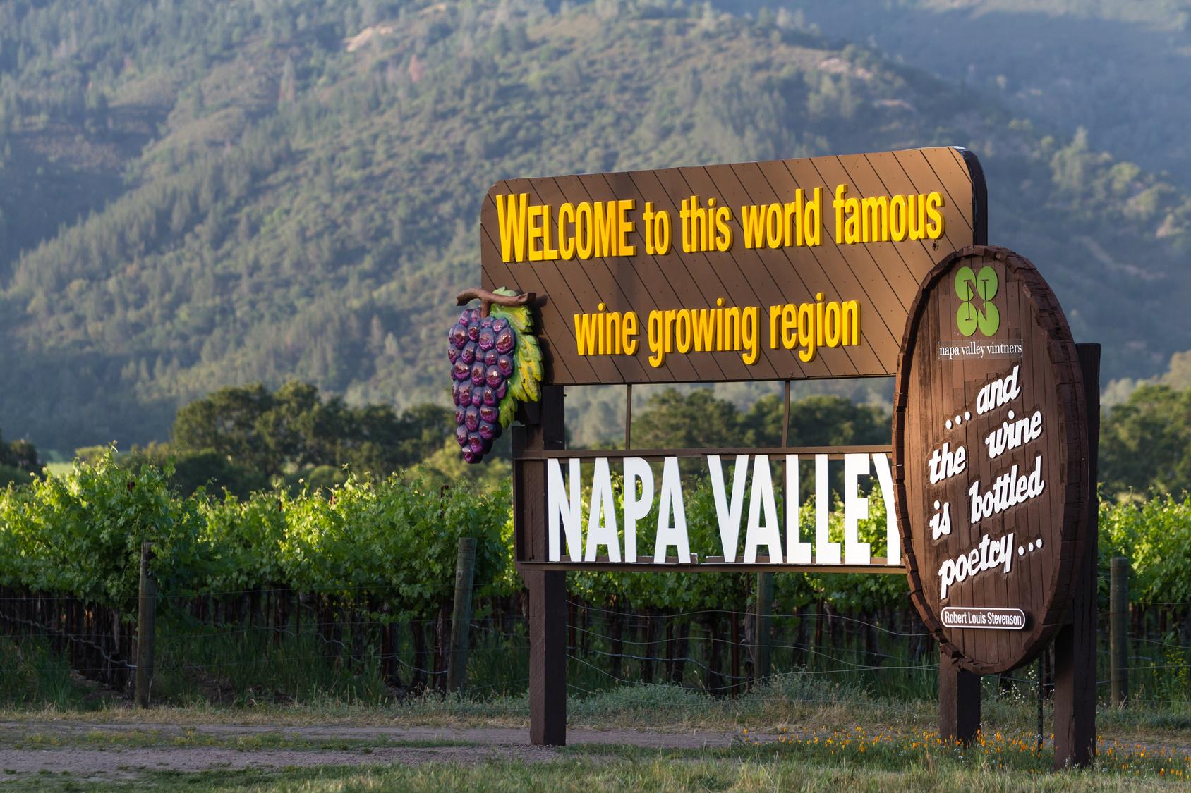Amerikanische Weissweine aus Napa Valley sind selbst in Europa bekannt. (#01)